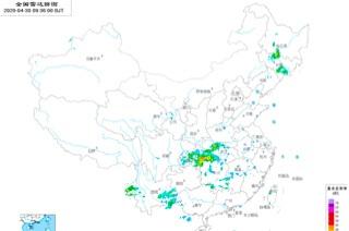 全国天气雷达图