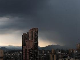 浙江大部地区今有中到大雨局部暴雨 周日降水减弱