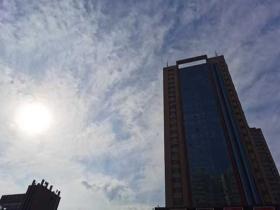 甘肃今日雨雪暂歇气温回升 兰州最高温重回两位数